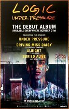 LOGIC Under Pressure Ltd Ed RARE Poster! Incredible True Story CHILDISH GAMBINO
