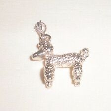 Barbie's Dog Charm Solid Silver, Nacklece New