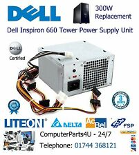 Replacement For Dell Inspiron 660 Tower 300W Power Supply Unit 3 Months Warranty