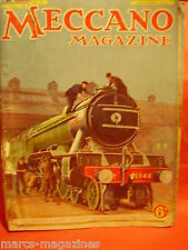 RARE MECCANO SEPT 1936 BORING SEVERN TUNNEL LONDON FLOUR MILL LADY LEINSTER