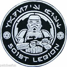 Star Wars Episode 501st Legion Storm Movies Sew Iron on Patch Embroidered #0119