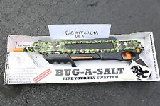 NEW Authentic BUG-A-SALT CAMOFLY 2.0 Gun Fly Swatter Insect Spider Pest Control