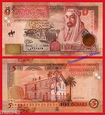 JORDAN JORDANIA 5 dinars  2008  Pick 35 c   SC / UNC