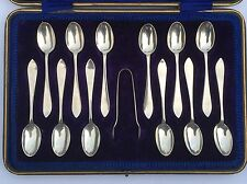 Spoon And Sugar Tong Set By John And William Deaken 1911