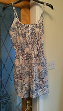 FLORAL PLAYSUIT SIZE 8 BY BLUE INK