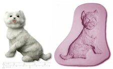 DOG; Westie/Scottie Craft Sugarcraft SCULPEY STAMPO IN SILICONE GOMMA
