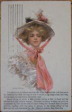 1907 Philip Boileau Glamour PC w/'Metropolitan Life' AD