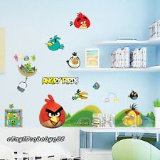 Angry Birds Pigs Wall Stickers Removable Decals Home Decor kids Nursery Baby Art