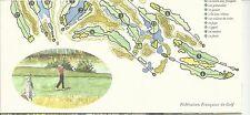 FRANCIA - LIBRETTO SOUVENIR 2006: FOGLIETTO OPEN DI FRANCIA - GOLF