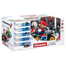 "NEW-CARRERA RC 2.3 GHz ""MARIO"" KART 7 REMOTE CONTROLLED CAR-40 MIN RUN TIME"