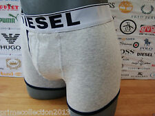DIESEL Boxer Shorts 00AEJ UMB-BREDDOX Grey Cotton Rich Jersey Trunk Boxed RRP£30