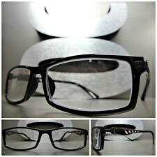 Mens Women CONTEMPORARY Style READING EYE GLASSES Cool READERS Black Frame +1.50