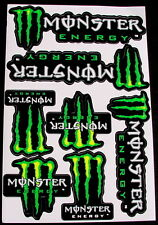 1 Sheet scooter motocross Stickers atv mx Energy Rockstar BMX Bike SGM decals