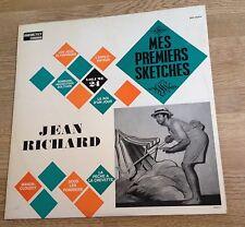 LP Humour Jean Richard Mes premiers sketches 1966 disque comme NEUF *