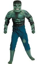 Boys L 8 10 Incredible Hulk Muscle Suit Costume w/ Mask by Disguise NIP