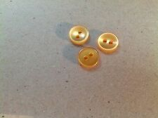 "PKG 0F 72 BUTTONS FOR BUTTON NECKLACE 3/8"" GOLD PEARLL"
