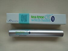 BOOTS Tea Tree & Witch Hazel Natural shade spot/blemish concealer ALL skin types