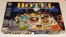 MB Jeux Hotel French Edition 1994 Board Game RARE!