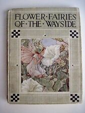 1930's Rare Enchanting Book Flower Fairies of the Wayside Cicely Mary Barker *