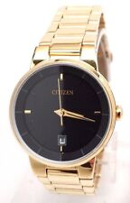 Citizen Women's Gold Tone Stainless Bracelet Watch EU6012-58E BAND DETACHED!!!
