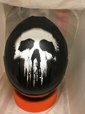 HJC CL-17 THE PUNISHER  MARVEL MOTORCYCLE HELMET IN STOCK  XXXL  3XL