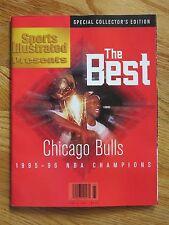 Sports Illustrated Presents CHICAGO BULLS 95-96 THE BEST No Label MICHAEL JORDAN
