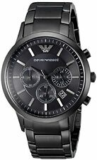 Emporio Armani Classic Black Chronograph Watch AR2453