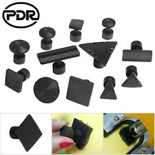 12pc PDR Puller Tabs Tools Paintless Dent Hail Repair Removal Dent Puller Black