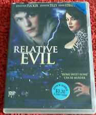 DVD.  Relative Evil /Home Sweet Home Can Be Murder/ (MA ) 15+ / Reg 4 /EX RENTAL
