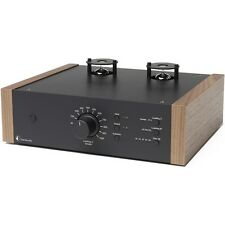 Pro-Ject Tube box ds2 tubos Phono-preamplificador-negro/nogal