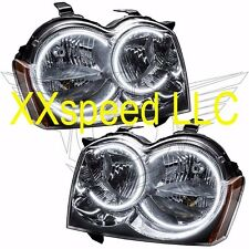 ORACLE Halo HEADLIGHTS non HID Jeep Grand Cherokee 05-07 WHITE LED Angel Demon