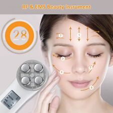 RF & EMS Beauty Galvanic Facial Instrument Skin Care Anti-wrinkles Messager