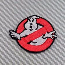 Embroidered Patch Iron Sew Logo Ghost buster ghostbuster movie retro vintage fun