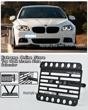 For 11-Up BMW F10 5-Series M-Sport Front Tow Hook License Plate Mount Bracket