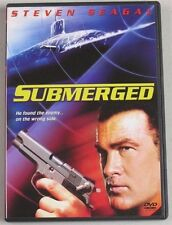 Submerged DVD 2005 Steven Seagal Action Packed Thriller Movie Widescreen