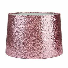 New Home Decor Glitter Dual Purpose Lightshade Lampshade / Pendant - Light Pink