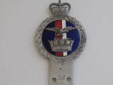 J R Gaunt London. Fleet Air Arm Car Club Badge. Post war.