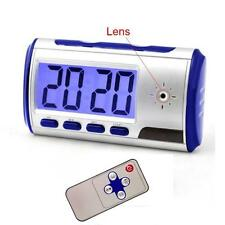 Mini HD Camcorder Spy Clock Camera Motion Detect Video Cam DVR Digital Recorder