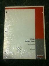7-5780 - Is A New Parts Catalog For A CaseIH RS451 Round Baler