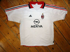 + AC MILAN SHIRT + XL + 2003 + AWAY FOOTBALL JERSEY + camiseta maillot maglia