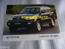 Toyota Land Cruiser 100 Wagon  Pressefoto  / Press-picture