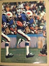 OJ Simpson Buffalo Bills HOFer Vintage Signed Photo(On the Run) with COA