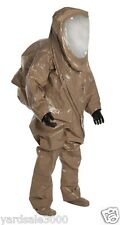 DuPont Tychem Responder CSM Encapsulated Level A Hazmat Suit XL w/ Inner Glove
