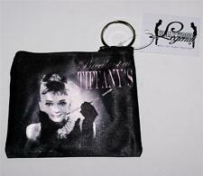 AUDREY HEPBURN Hollywood Star and Legend Unisex COIN PURSE with KEY RING New