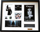 New Ozzy Osbourne Signed Limited Edition Memorabilia Framed