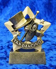 Tap Dancing Small Resin Trophy Award Tournament Competition FREE engraving