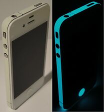 iPhone 4s * Green BLUE * Glow in the Dark for iPhone 4s Edge Wrap Decal Sticker