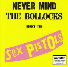 SEX PISTOLS - NEVER MIND THE BOLLOCKS CD ~ 2012 VERSION ~ JOHNNY ROTTEN *NEW*