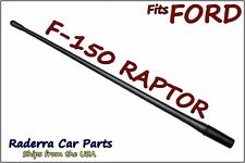 "FITS: 2010-2017 Ford F-150 Raptor 13"" SHORT Custom Flexible Rubber Antenna Mast"