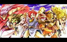 "009 Chrono Trigger - Role Playing Video Game 22""x14"" Poster"